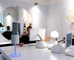 Afbeelding van de Lightair Ionflow op kantoor