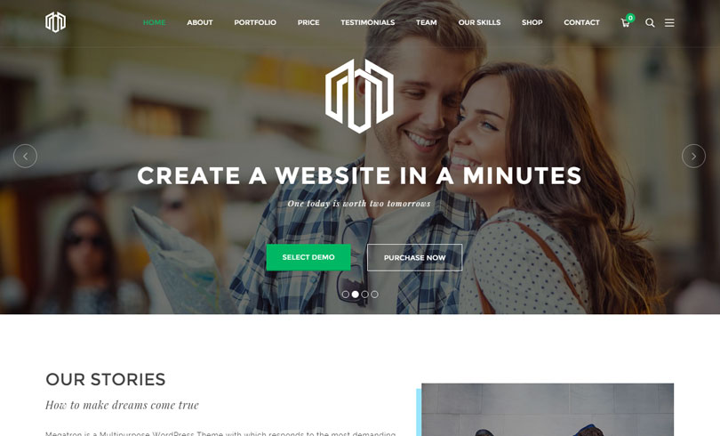 best-premium-wordpress-themes-january-2016-megatron