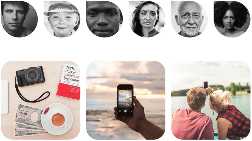 Websitemaker fotogalerijwidget nieuwe lay-outs