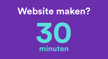 Website in 30 minuten